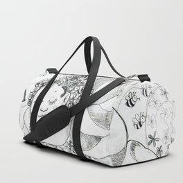 Sweet Dreams by Ines Zgonc Duffle Bag