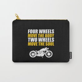 For Bikers Carry-All Pouch