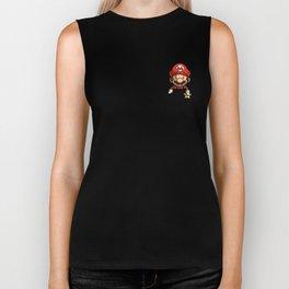 Pocket Mario Super Mario T-Shirt Biker Tank