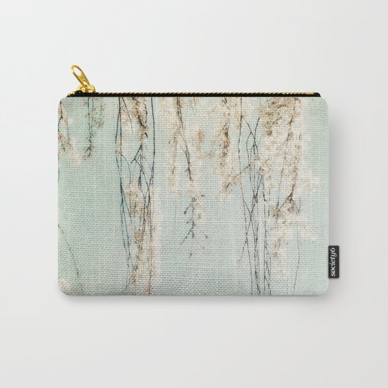 Old Town Blossoms Carry-All Pouch