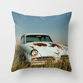Retired Studabaker Throw Pillow