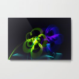 Blooming Lights Metal Print