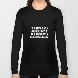 Things Long Sleeve T-shirt