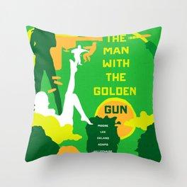 James Bond Golden Era Series :: The Man with the Golden Gun Throw Pillow