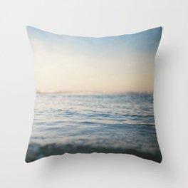 Sinking in Thin Air Throw Pillow
