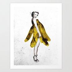 a lady's dream Art Print
