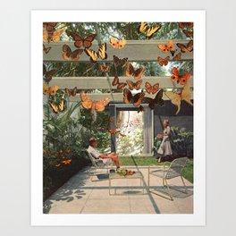 Flutterby 🦋 Art Print