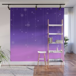 Wish Upon A Falling Star Wall Mural