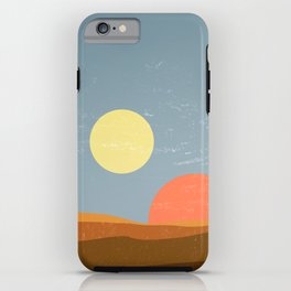 Desert Morning - Tatooine Edition iPhone Case