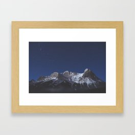 Canmore, AB Framed Art Print