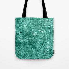 Lucite Green Oil Painting Color Accent Tote Bag