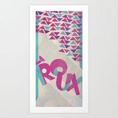 La Roux Art Print