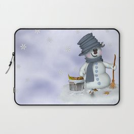 Little Snowman Laptop Sleeve