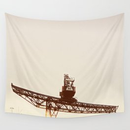 Crane I Wall Tapestry