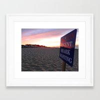 cape cod Framed Art Prints featuring Cape Cod by LindsayAlannah