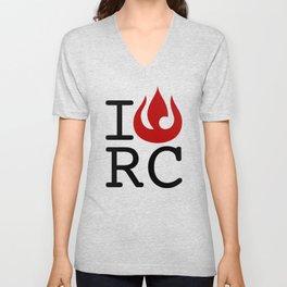 I love RC Unisex V-Neck