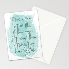 To Love... Stationery Cards