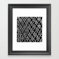Macrame Framed Art Print
