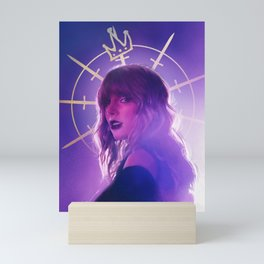 light me up Mini Art Print