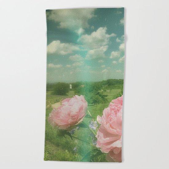 Boho Vibe Beach Towel