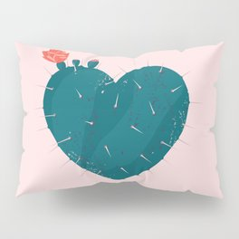 Cactus thorny heart Pillow Sham