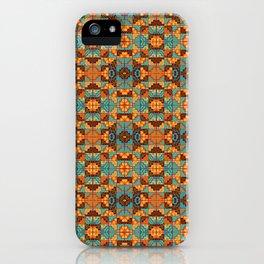 Chacana Turquesa Tostada iPhone Case