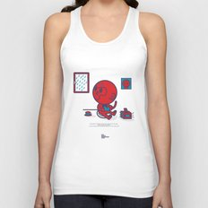 The Monkey and the Rain Unisex Tank Top
