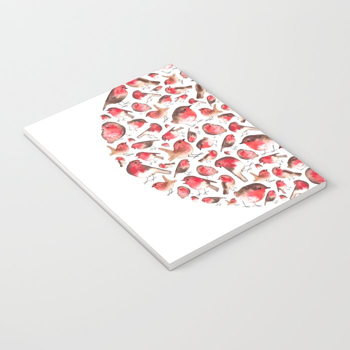 Christmas Robins Notebook