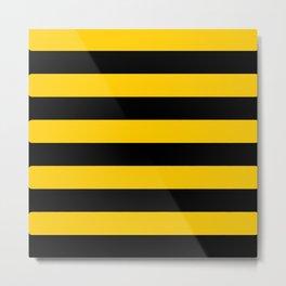 Bee pattern Metal Print