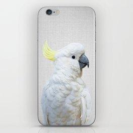 White Cockatoo - Colorful iPhone Skin