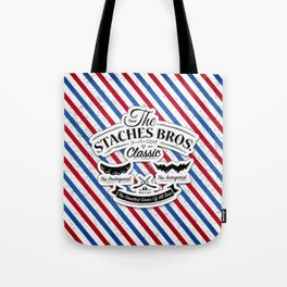The Staches Bros Tote Bag