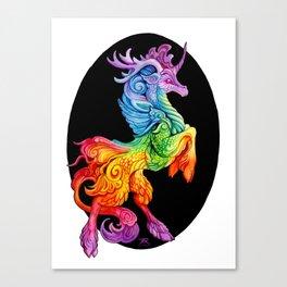 Rainbow Kirin Canvas Print