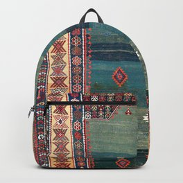Sivas Antique Turkish Niche Kilim Print Backpack