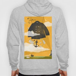 MELTED FLOWERS Hoody