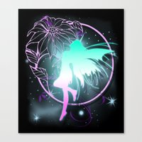 fairy Canvas Prints featuring Fairy by Augustinet