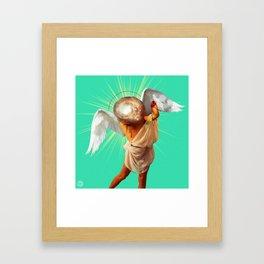 The Healer Framed Art Print