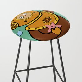 When I grow up I want to be a diver! Bar Stool