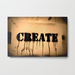 Create 2 Metal Print