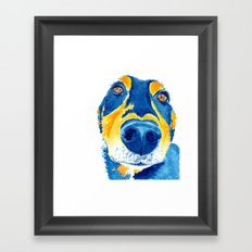 sausage lover Framed Art Print