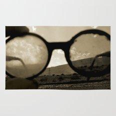 Glasses on the Horizon Rug