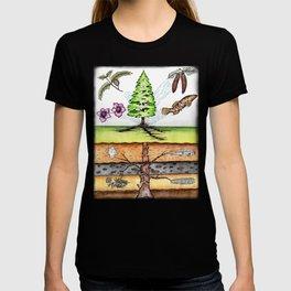 Metasequoia Faded Border T-shirt