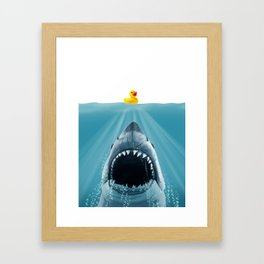 Save Ducky Framed Art Print