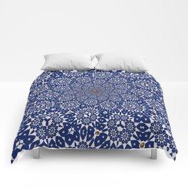 Bleu Gyre Royale Comforters