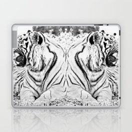 Tigers mirror Laptop & iPad Skin