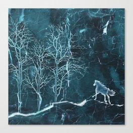 Marble Scenery Canvas Print