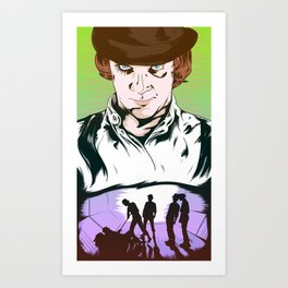A Clockwork Orange Poster Art Print