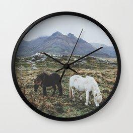 Iceland X Wall Clock