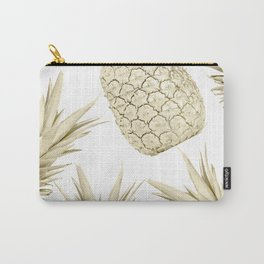 Gold Pineapple Party Carry-All Pouch