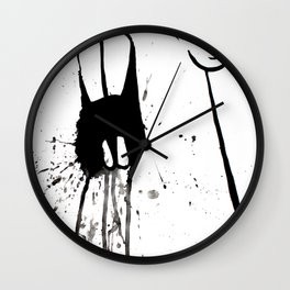 Zombie Gopher Wall Clock
