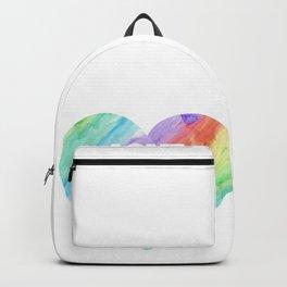 Love Wins Gay Lesbian Rainbow CSD Gift Backpack